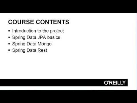 Spring Data for Java Developers