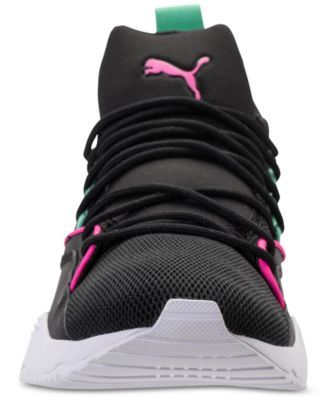 65f6e0a2a00743 Puma Women s Muse Maia Varsity Casual Sneakers from Finish Line - Black 9.5