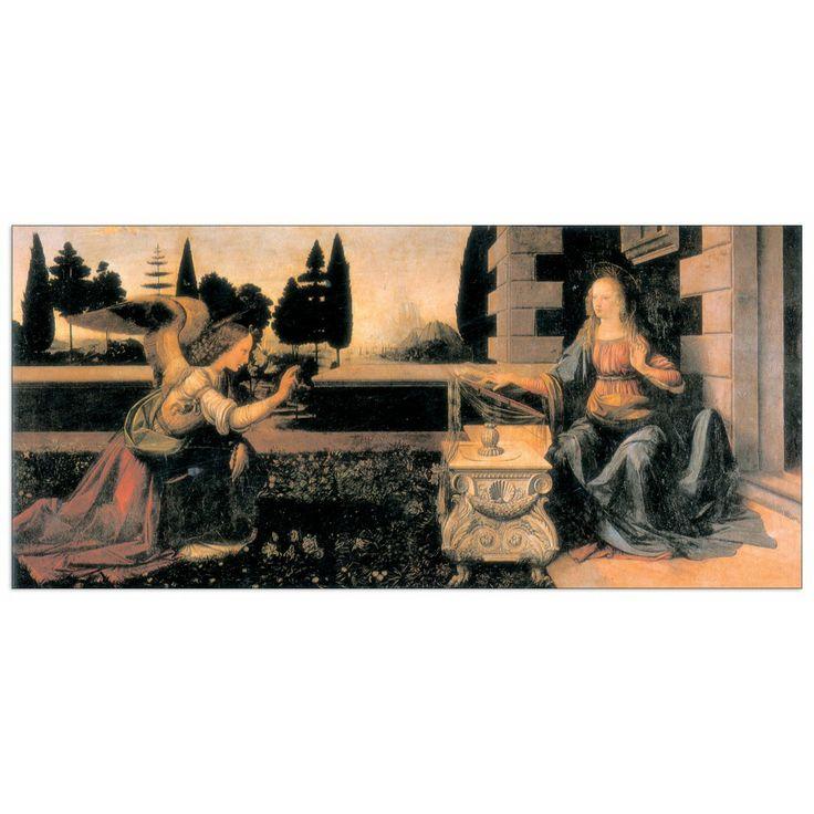 DA VINCI - ANNUNCIAZIONE 140x64 cm / 100x46 cm #artprints #interior #design #DaVinci #Leonardo Scopri Descrizione e Prezzo http://www.artopweb.com/autori/leonardo-da-vinci/EC15109
