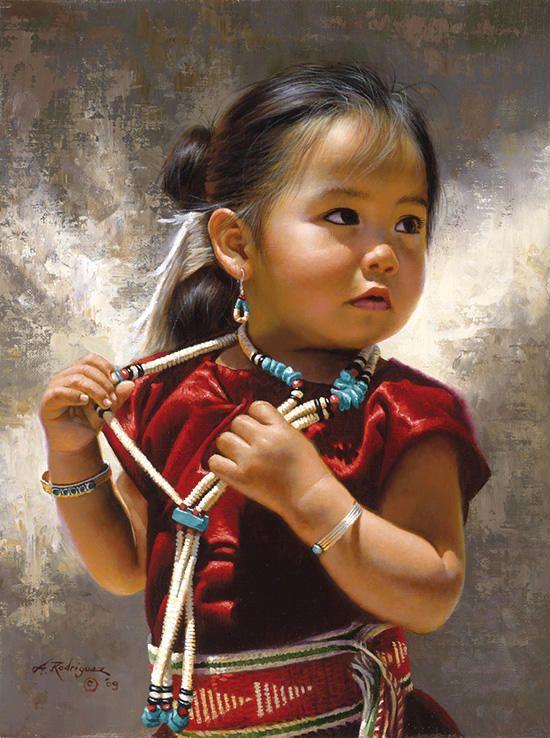 Pinturas realísticas dos índios norte americanos | designerGH
