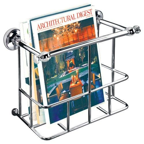Traditional Magazine Rack   Bathroom