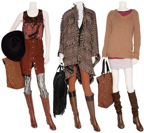 С чем носить коричневую обувь