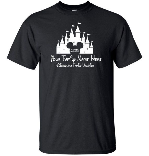 Custom Disney Vacation T-Shirt by MathesonGraphics on Etsy