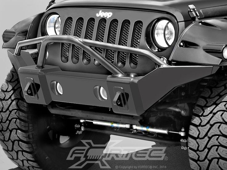 Rampage Products Marathon Bumper In Smooth Black With