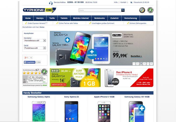 Mit TYPHONE.DE zum richtigen Vertrag oder Smartphone - mit iPad Air Gewinnspiel