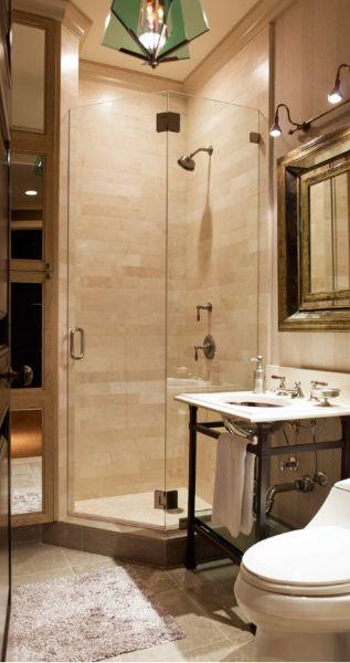 Oltre 25 fantastiche idee su piccola doccia per il bagno - Bagno piccolissimo misure ...