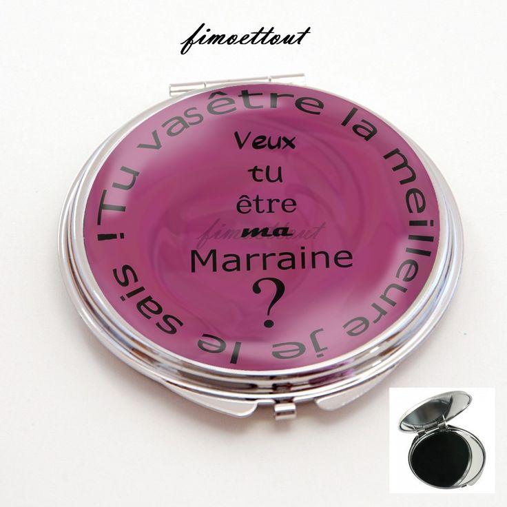 Miroir de poche refermable cabochon resine veux tu etre for Miroir intelligent