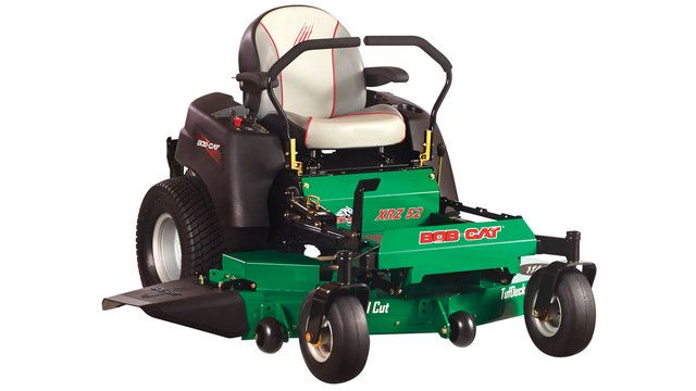The BOB-CAT XRZ zero-turn mower is an entry-level commercial mower that is designed to provide optimized features for new commercial contractors