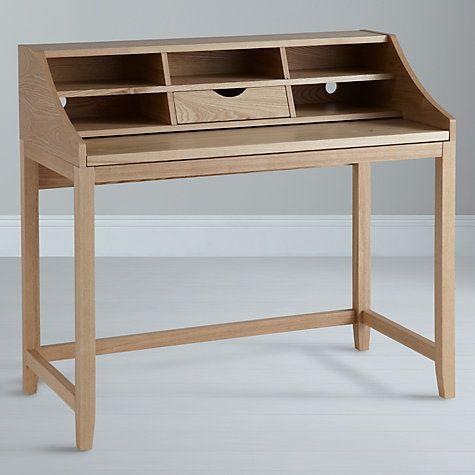 Buy John Lewis Loft Desk and Filing Cabinet, Ash Online at johnlewis.com