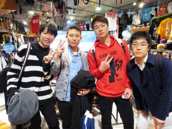 【大阪店】2015.03.19 香川から高3の卒業旅行でご来店頂きました!以前からセレクションに来たかったと有難いお言葉を頂きました!ありがとうございます(*^_^*)春からは京都の大学に進学されるということでいつでも来れますね!またお会いできることを楽しみにしております!
