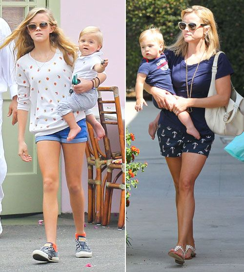 Encuentra las diferencias entre madre e hija: Reese Witherspoon y Ava Phillipe
