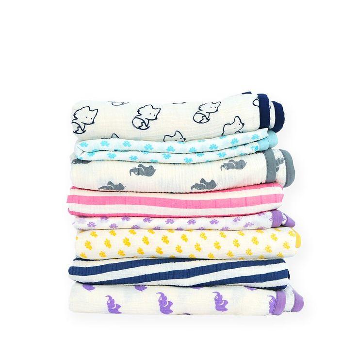 luxury muslin blankets