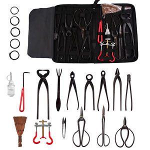 6 10 14pc Garden Plant KIT Bonsai Tools Cutter Scissor Trimming Equipment SET AU | eBay