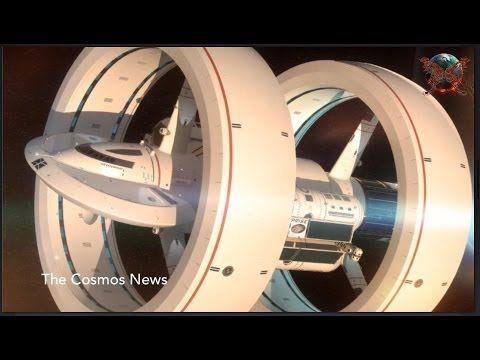 NASA unveils its warp drive concept spaceship IXS Enterprise - YouTube