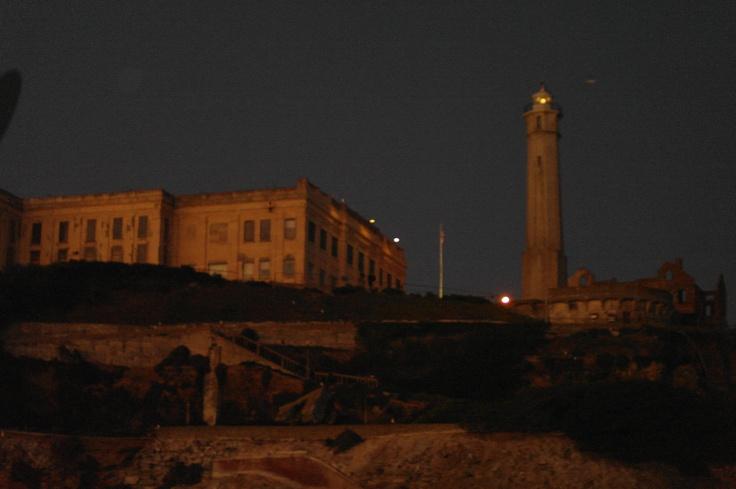 Alcatraz night tour - brilliant