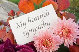 The most difficult part in writing sympathy messages for cards, is the wording and the way it should be expressed. Here are some examples you may find helpful.