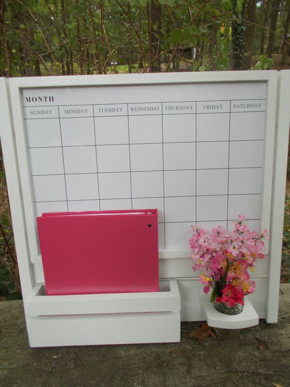 Large Magnetic Calendar Board/Kitchen Decor/Family message
