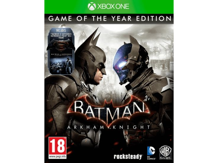 on aime BEMS Batman - Arkham Knight GOTY Xbox One chez Media Markt