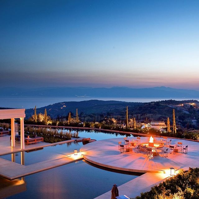 Where does your #wanderlust take you? #Santorini? #Athens? How about visiting the #Peloponnese in #Greece instead for a nice mix of #beach and #culture? Check out @amanzoe while you're there⠀⠀ Enjoy exclusive benefits at this #resort: clad@zebrano.com⠀⠀ ________⠀⠀ #luxury #travel #luxurytravel #luxuryhotel #luxuryresort⠀⠀ #europe #greek #european⠀⠀ #aman #amanresorts #amanjunkie #luxuryworldtraveler #beautifulhotels @luxuryworldtraveler @beautifulhotels #sunset #sunrise #wishlist