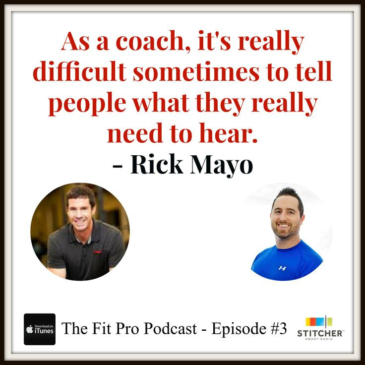 Why Rick Mayo is one of the best in the fitness biz when it comes to business coaching.