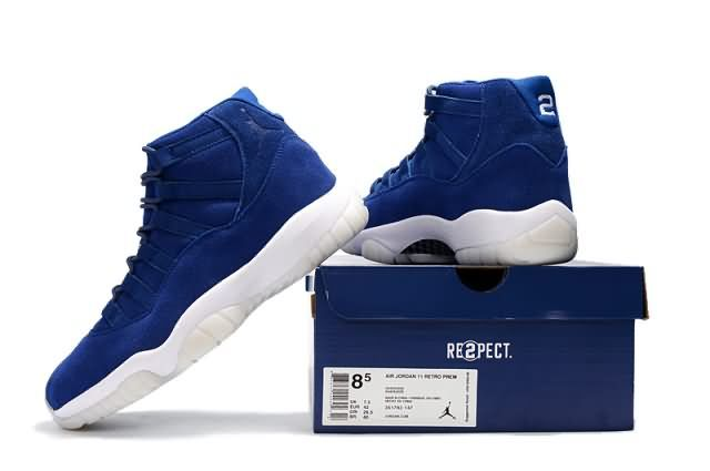 Cheap Air Jordan 11 Retro Suede Blue Mens shoes|Wholesale Jordan 11 Men|Discount Only Price $62 To Worldwide|Free Shipping