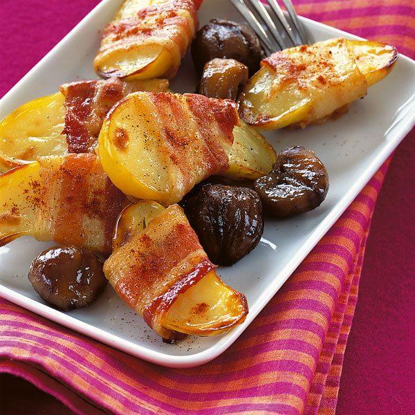 Speckkartoffeln mit Maroni