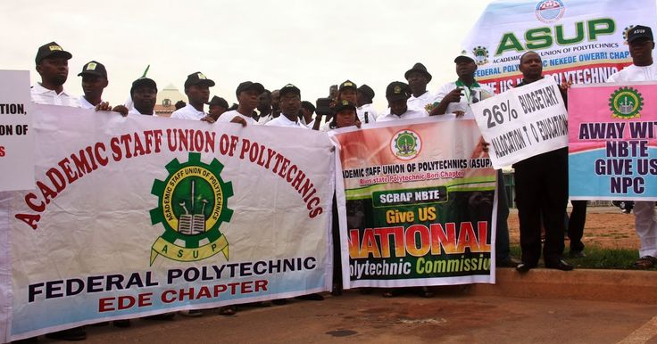 The Academic Staff Union of Polytechnics (ASUP) has suspended its nationwide strike. National President of the union Mr Usman Duste announced this on Wednesday during the unions 14th National Delegates Conference at the Abubakar Tatari Ali Polytechnic Bauchi state. Polytechnic lecturers had embarked on strike few weeks back over failure of the federal government to meet their demands. Duste stated that the decision to call off the industrial action followed series of meetings held between…