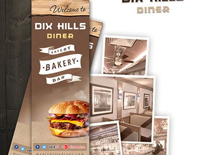 """Check out new work on my @Behance portfolio: """"Clean look for an old-fashioned diner menu"""" http://be.net/gallery/58901025/Clean-look-for-an-old-fashioned-diner-menu"""