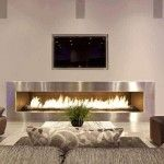 Portable Fireplace For The Modern Home | Fire Place and Pits                                                                                                                                                                                 More