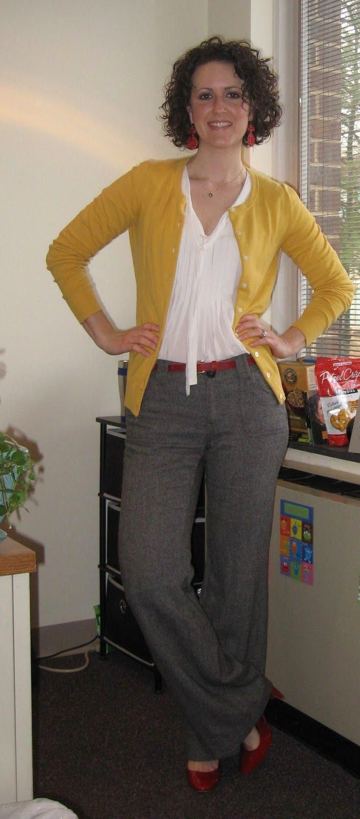 yellow cardigan #teacherfashionover40animalprints #women'sfashionover40wintersty…