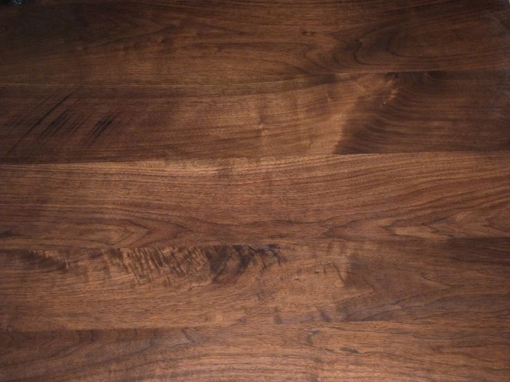 Rustic black walnut table top detail patterns