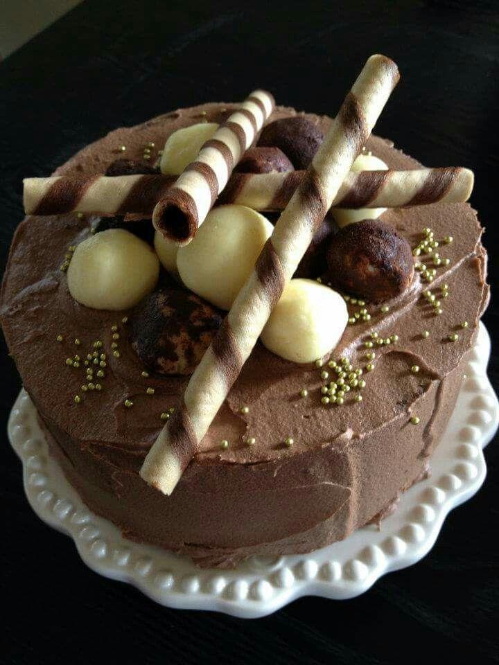 Chocolate mud cake Www.facebook.com/Rkdesignsnz