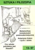 Wydawnictwo Naukowe Scholar :: :: 1997 SZTUKA I FILOZOFIA nr 13
