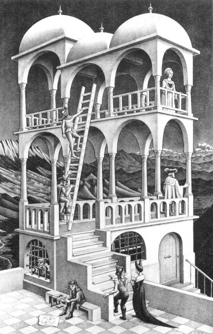 the life and works of mc escher For me it remains an open question whether [this work] pertains to the realm of mathematics or to that of art —mc escher.