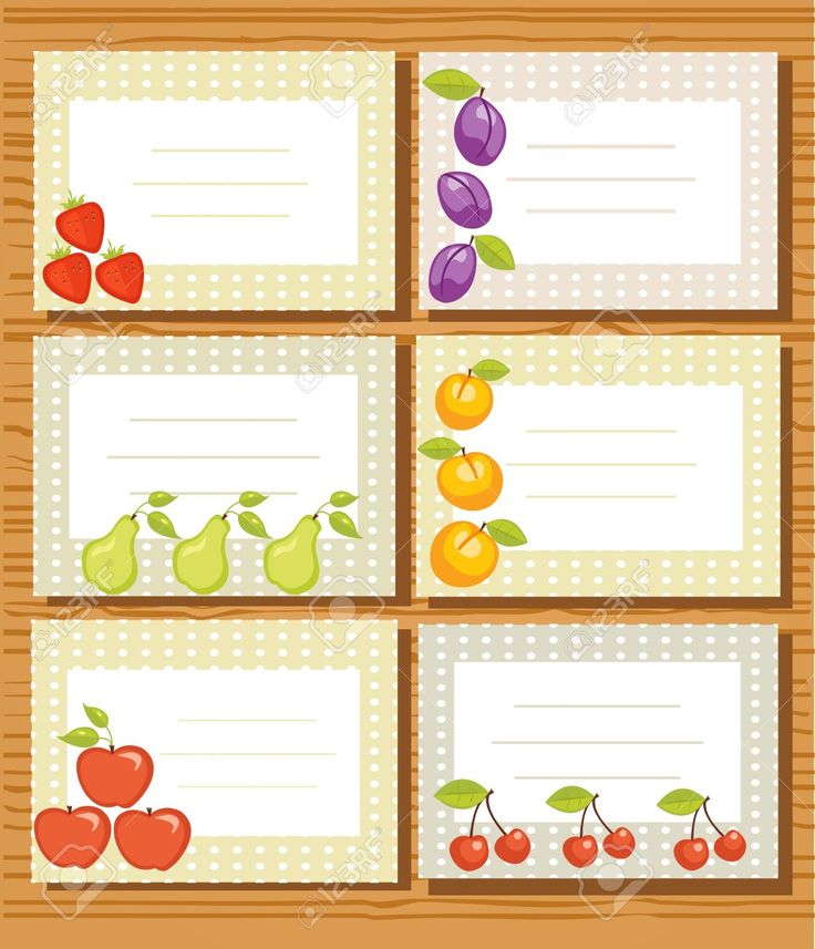 Fruit Labels Illustration Royalty Free Cliparts, Vectors, And Stock Illustration. Image 8615337.