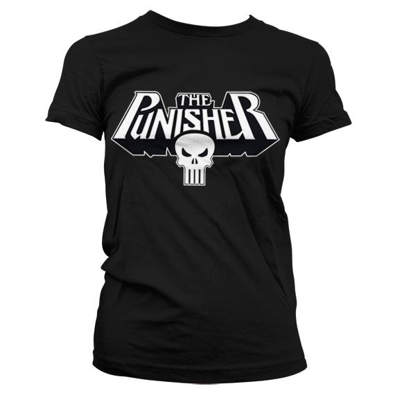 Marvel The Punisher Logo Koszulka Damska
