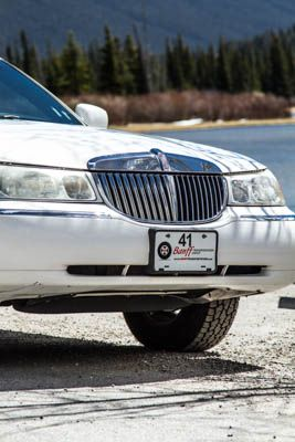 For all your wedding needs #limousinesofbanff