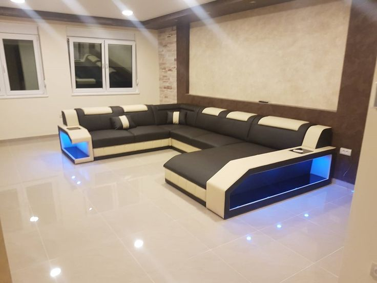 Fresh Designer Sofa MATIS XXL mit LED Beleuchtung Dieses moderne Sofa der Marke NATIVO l dt Sie
