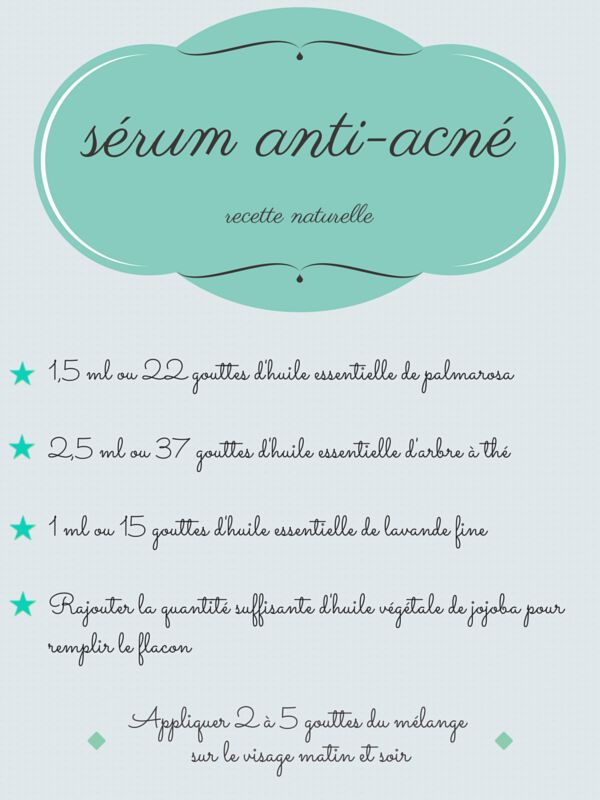 DIY : un sérum anti-imperfections - RED BEAUTY