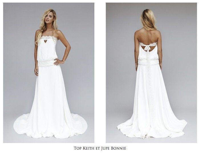 Vestido de novia hippie barato – Vestidos de noche populares foto ...