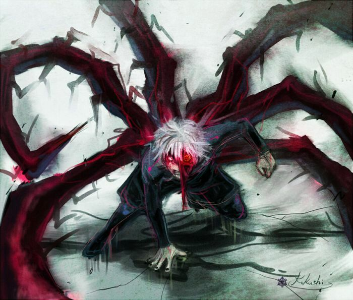 Tokyo Ghoul One Eyed Characters