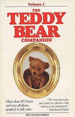 Vintage Teddy Bears Stuffed Animals / Illustrated Price Guide Book