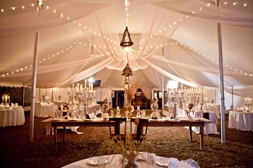 Reception under a tent. The lighting is impeccable.Country Wedding Tents, Wedding Ideas, Tents Wedding, Tents Drapes, Winter Wedding, Wedding Lights For Tents, Tents Receptions, Southern Wedding, Outdoor Receptions