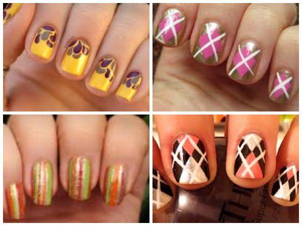 #fallmanicure #fall   https://www.facebook.com/leovandesign   #nailpolish #manicure #pedicure #polish #nail #design #pattern #prints