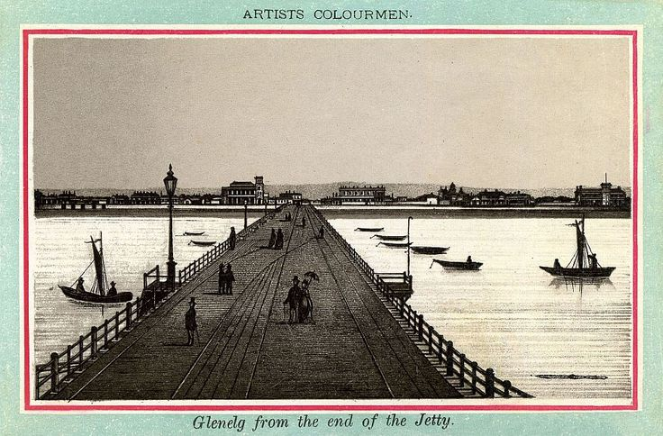 Glenelg From The End Of The Jetty c.1885