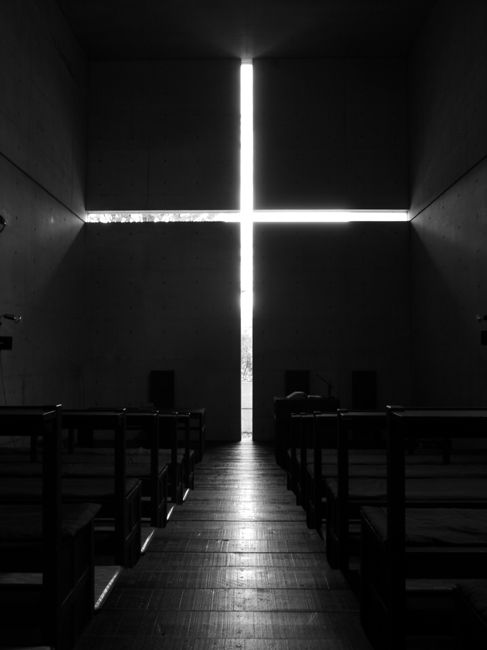 """Church of the Light"" designed by Tadao Ando"