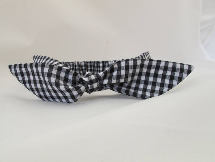 Black and white checked baby headband, baby girl headband, baby head wrap, baby bow headband, handmade headband, fabric headband by littlefolkproject on Etsy https://www.etsy.com/au/listing/574418193/black-and-white-checked-baby-headband