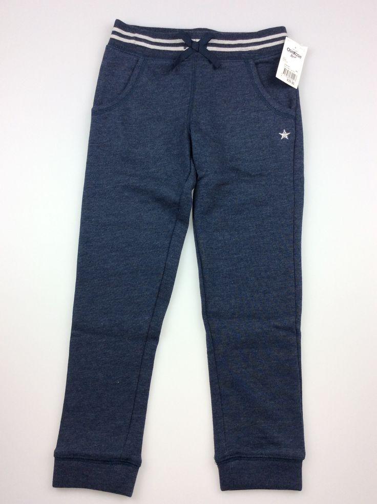Osh Kosh, navy track pants, brand new with tags) BNWT, girl's size 6, $19 (RRP $39.95) #kidsfashion #girlsfashion #oshkosh