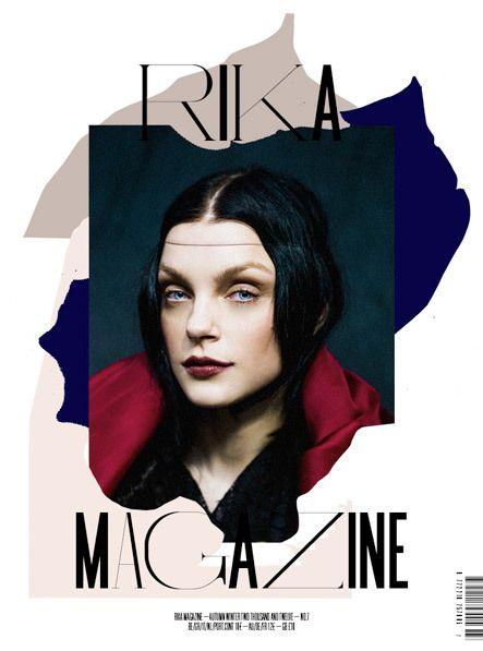 Rika Magazine by NR2154 | Trendland: Fashion Blog — Designspiration