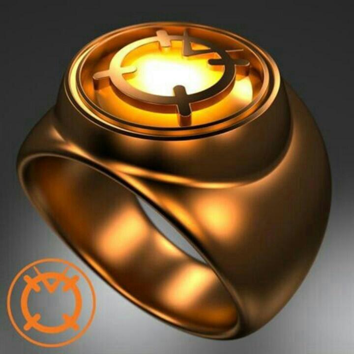 Orange Lantern Corps ring